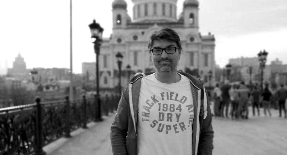 Manuel Regalado, corresponsal de la agencia de noticias Sputnik Mundo