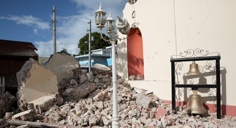 Consecuencias del terremoto en Puerto Rico