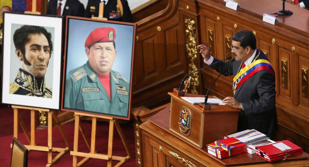 El presidente de Venezuela, Nicolás Maduro, rinde memoria y cuenta