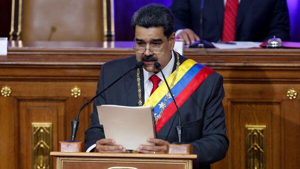Nicolás Maduro, el presidente venezolano - Sputnik Mundo