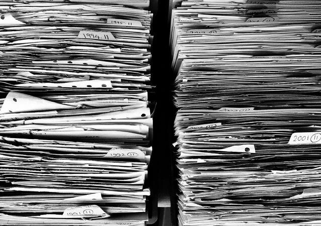 Unos archivos (imagen referencial)