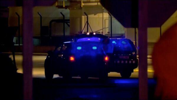 Servicios de emergencias que acudieron a la explosión en Tarragona - Sputnik Mundo