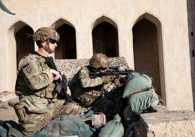 Soldados estadounidenses en Irak