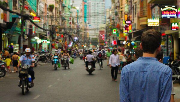 Una ciudad china (imagen referencial) - Sputnik Mundo