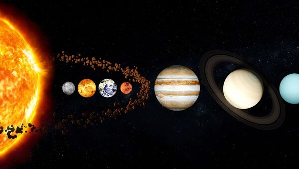El sistema solar (imagen referencial) - Sputnik Mundo
