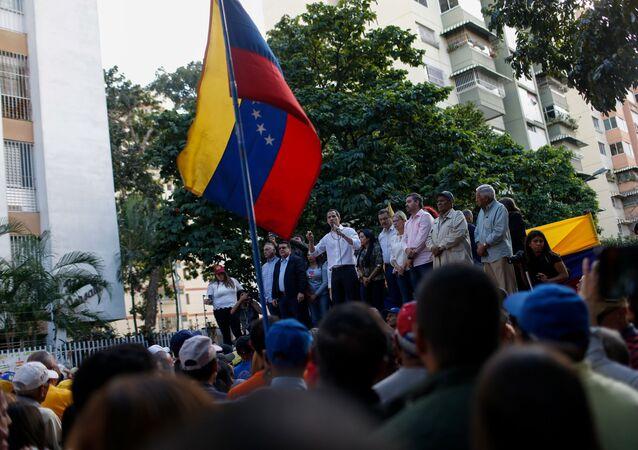 Juan Guaidó, líder opositor venezolano (archivo)