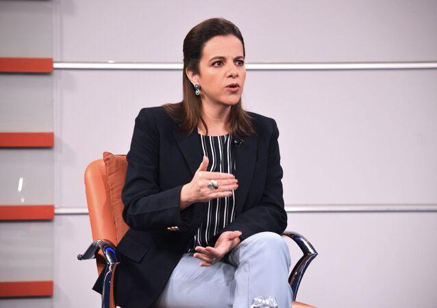 María Paula Romo, ministra de Gobierno de Ecuador