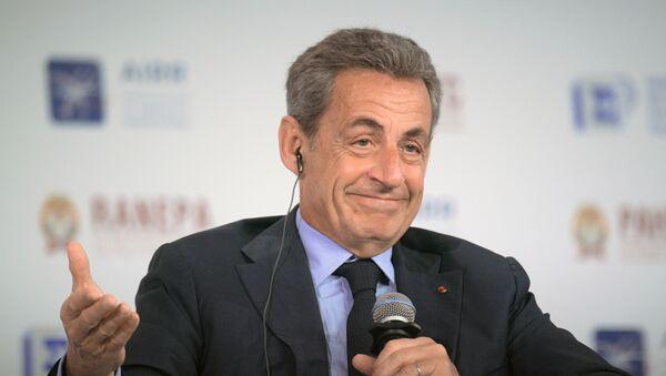 Nicolas Sarkozy, expresidente de Francia, en el Foro Gaidar - Sputnik Mundo