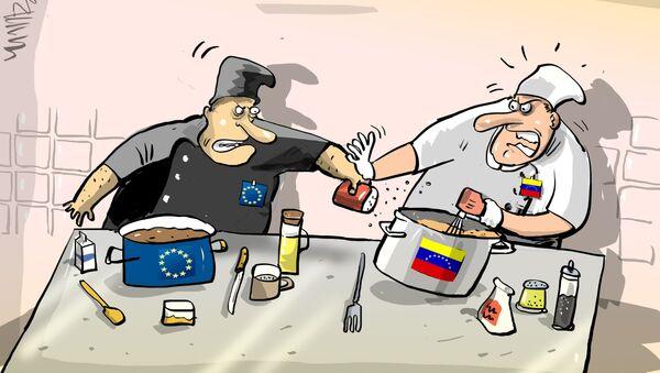 La receta del Parlamento Europeo para Venezuela se sale de lugar - Sputnik Mundo