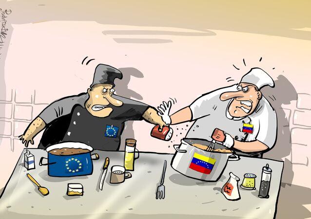 La receta del Parlamento Europeo para Venezuela se sale de lugar