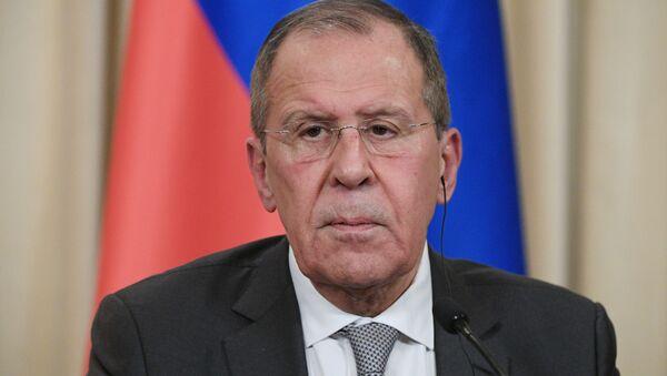 Serguéi Lavrov, ministro de Exteriores interino de Rusia - Sputnik Mundo