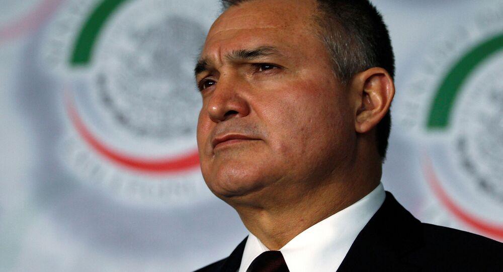 Genaro García Luna, exsecretario de Seguridad de México