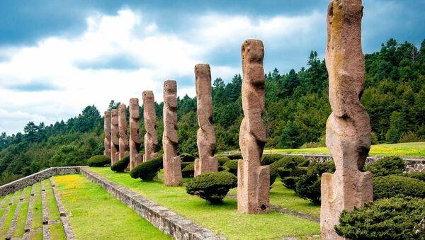 Arquitectura prehispánica en México (imagen referencial) - Sputnik Mundo
