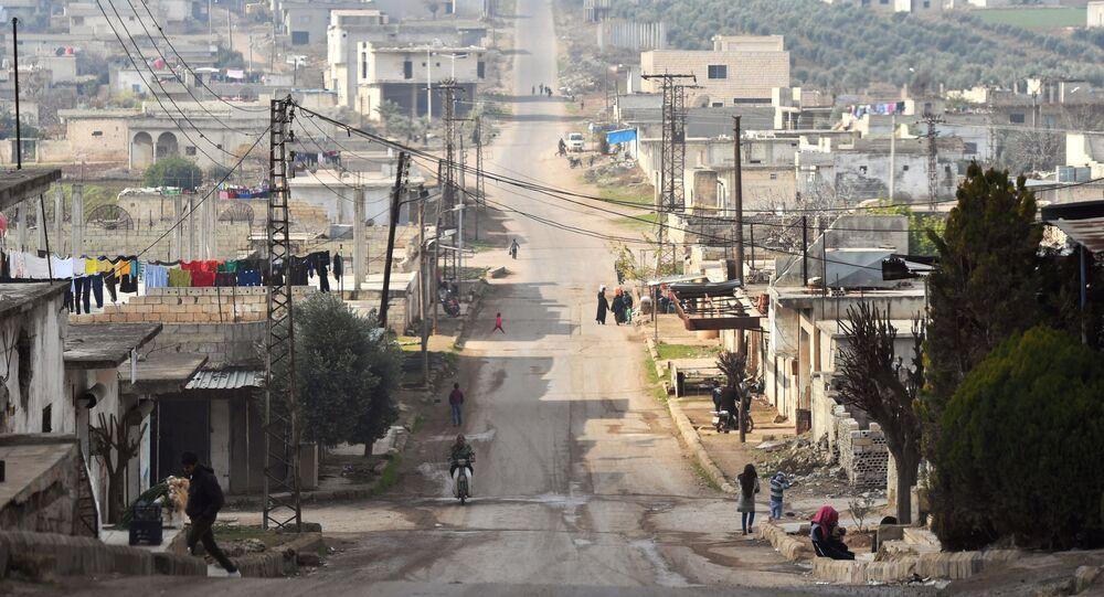 La situación en Idlib, Siria (archivo)