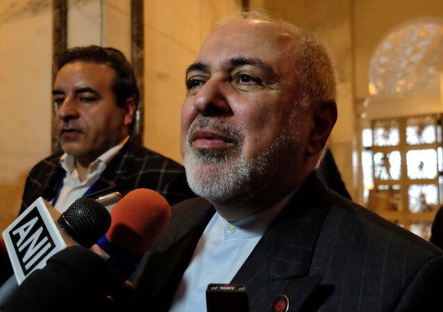 Mohamad Yavad Zarif, ministro de Exteriores iraní