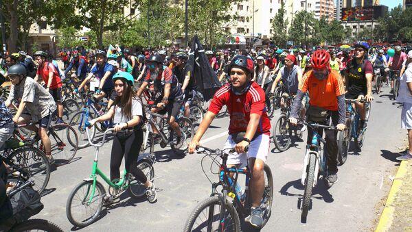 La revolución ciclista en Chile - Sputnik Mundo