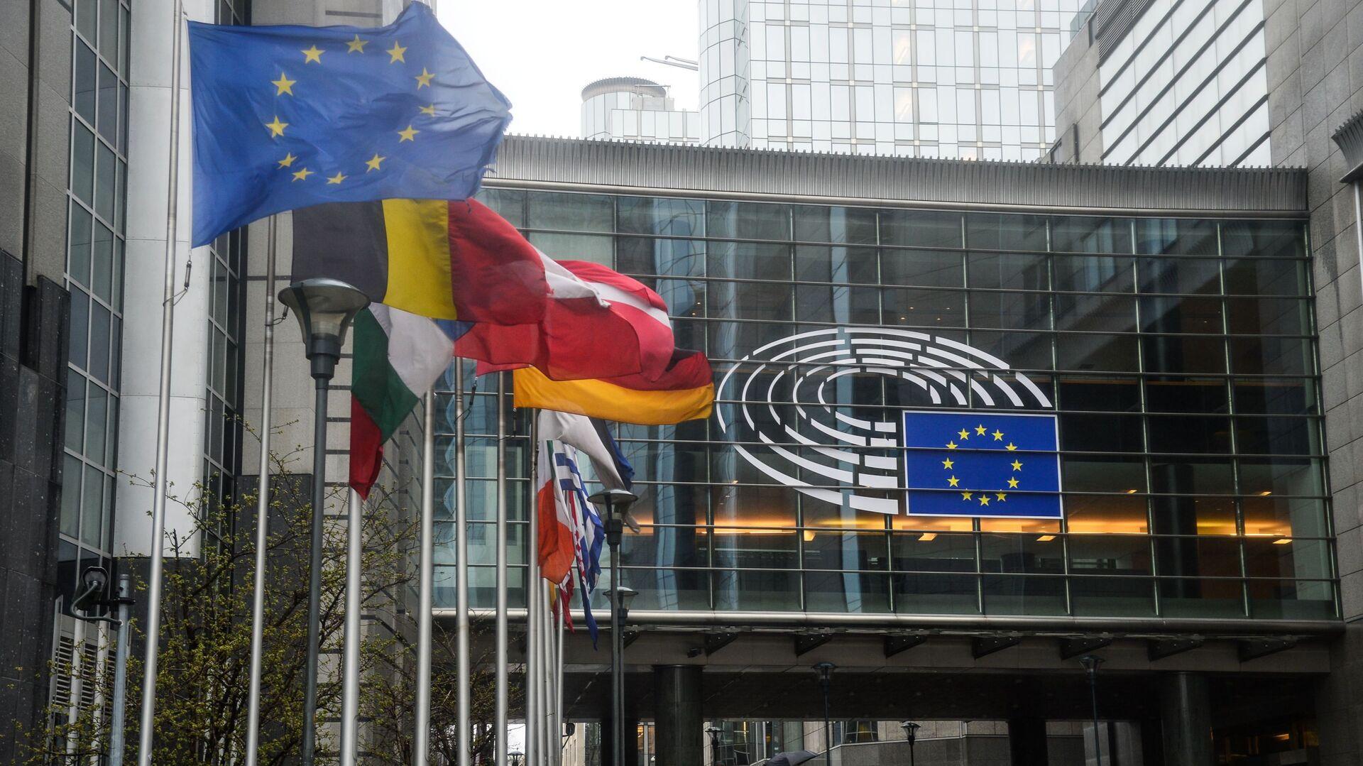 Sede del Parlamento Europeo en Estrasburgo - Sputnik Mundo, 1920, 11.04.2021