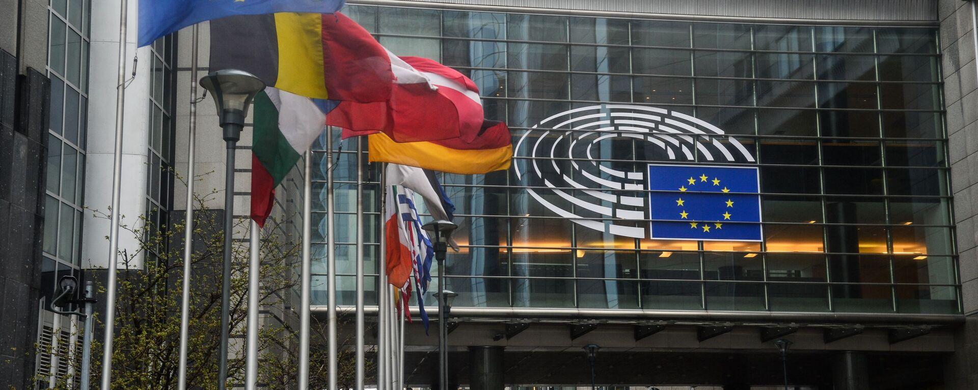 Sede del Parlamento Europeo en Estrasburgo - Sputnik Mundo, 1920, 10.06.2021
