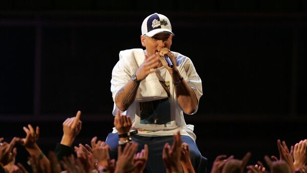 El rapero estadounidense Eminem - Sputnik Mundo