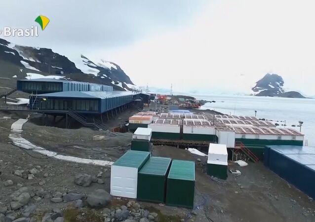 Brasil inaugura su base permanente de investigación científica en la Antártida