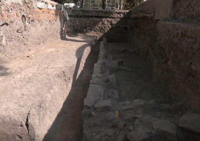 Así son las ruinas de una casa prehispánica descubierta en México