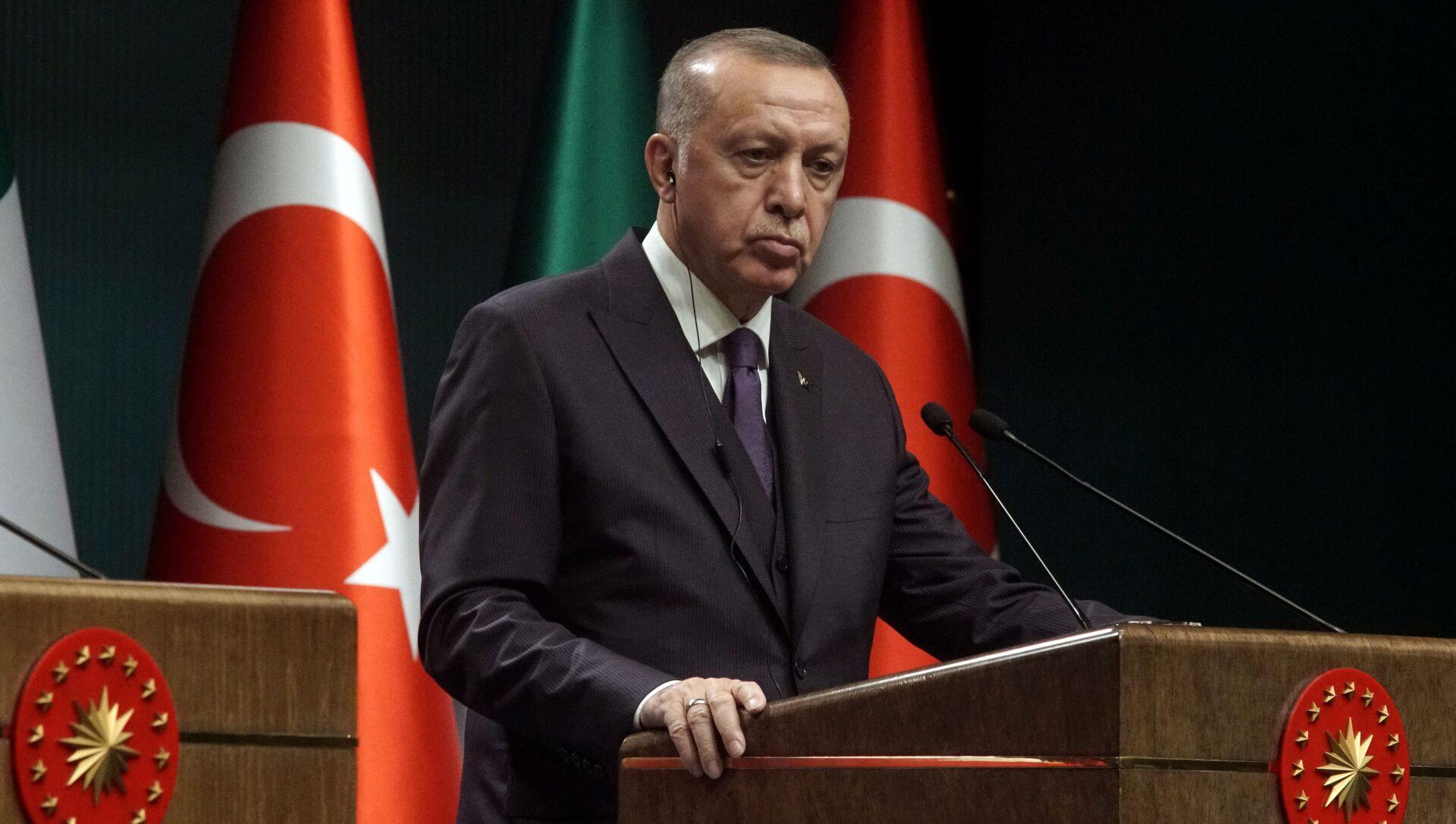 Recep Tayyip Erdogan, el presidente de Turquía - Sputnik Mundo, 1920, 03.02.2020