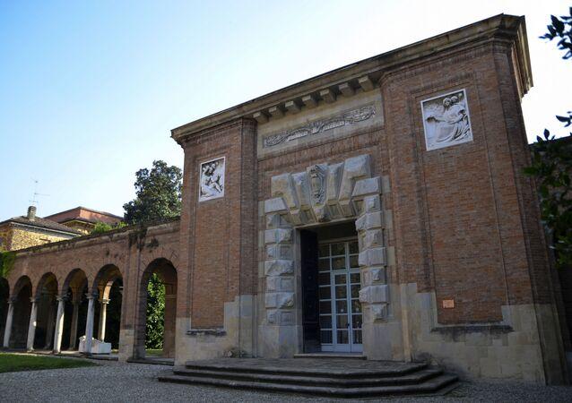 Ricci Oddi , galería de arte moderno en la ciudad italiana de Plasencia