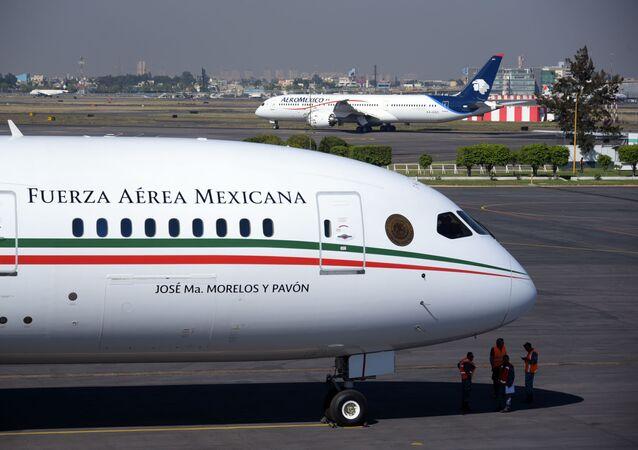 El avión presidencial de México