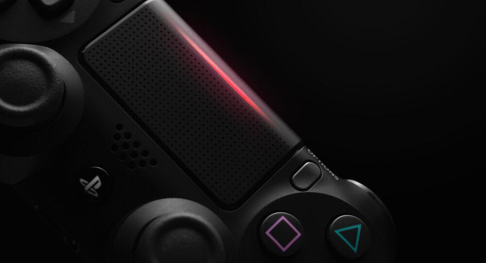 Un control de la videoconsola PlayStation 4