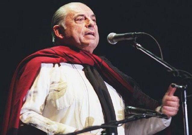 Juan Carlos Saravia, líder y fundador del grupo musical folclórico argentino Los Chalchaleros