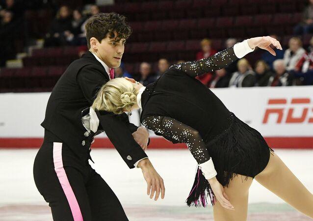 Piper Gilles y Paul Poirier, patinadores canadienses