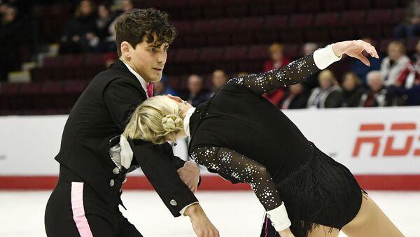 Piper Gilles y Paul Poirier, patinadores canadienses - Sputnik Mundo