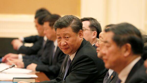 El presidente chino Xi Jinping  - Sputnik Mundo