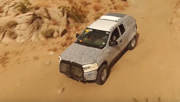 Un prototipo del nuevo Ford Bronco - Sputnik Mundo