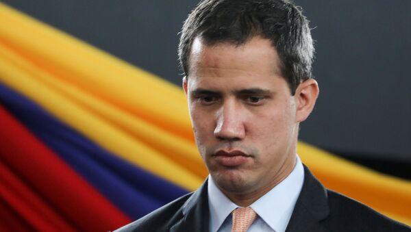 El autoproclamado presidente de Venezuela, Juan Guaidó - Sputnik Mundo