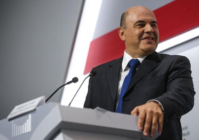 Mijaíl Mishustin, primer ministro de Rusia
