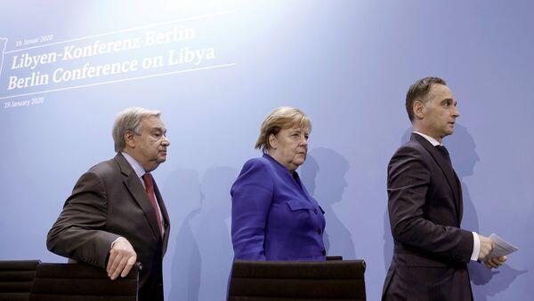 Conferencia internacional sobre Libia en Berlín - Sputnik Mundo