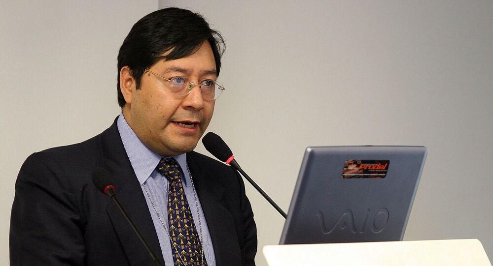 El exministro de Economía de Bolivia Luis Arce Catacora