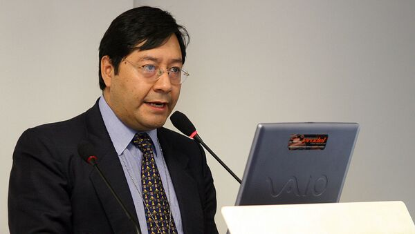 El exministro de Economía de Bolivia Luis Arce Catacora - Sputnik Mundo