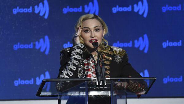La cantante Madonna - Sputnik Mundo