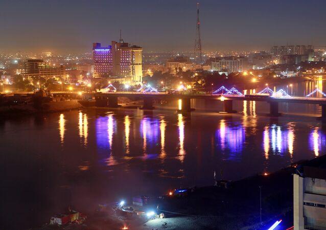 Zona Verde de Bagdad (Irak)