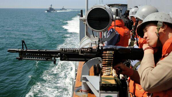 Armada surcoreana (Archivo) - Sputnik Mundo