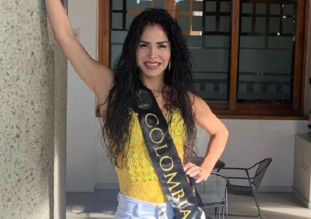 Yesenia Orozco, modelo colombiana