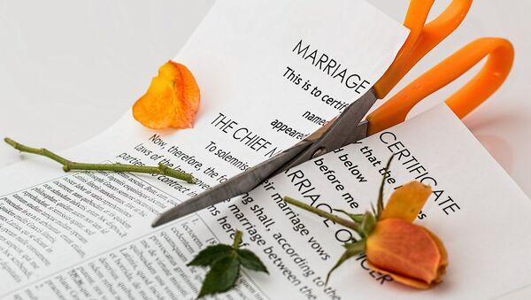 Divorcio, referencial - Sputnik Mundo