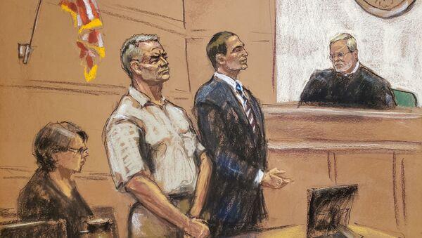El juicio contra Genaro García Luna (Ilustración) - Sputnik Mundo