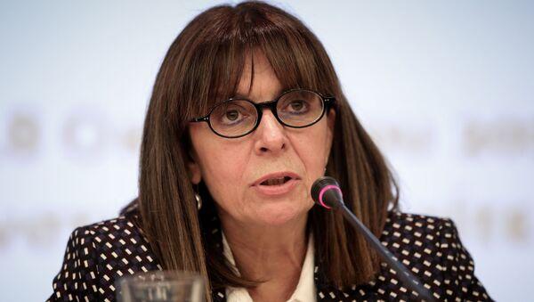 Katerina Sakellaropoulou, la presidenta electa de Grecia - Sputnik Mundo