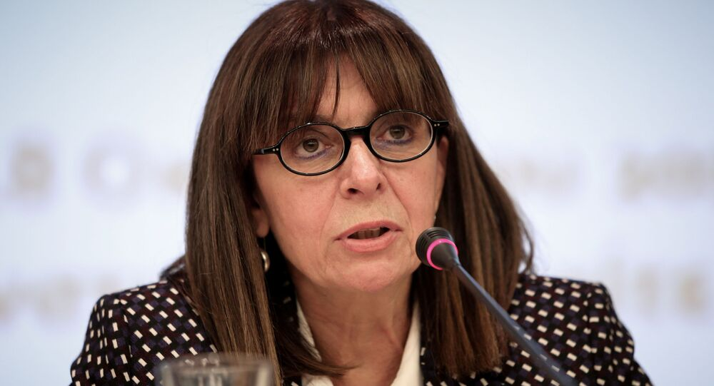 Katerina Sakellaropoulou, la presidenta electa de Grecia