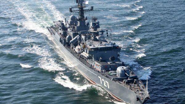 El buque de vigilancia 'Yaroslav Mudri' - Sputnik Mundo