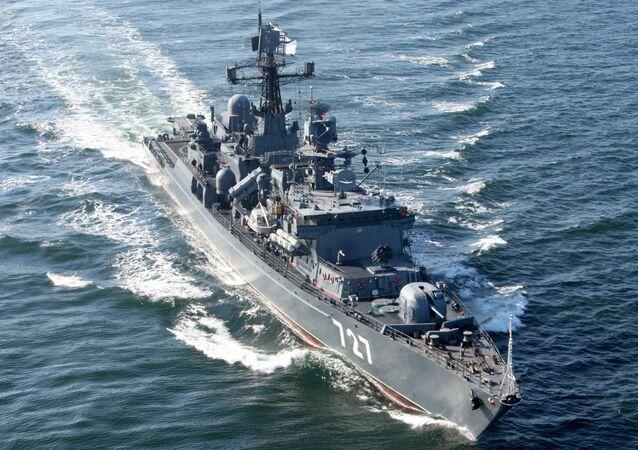 El buque de vigilancia 'Yaroslav Mudri'