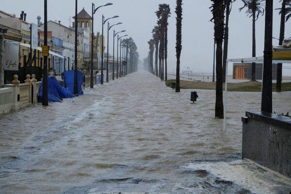 La devastación que dejó Gloria tras su paso por España y Francia  - Sputnik Mundo